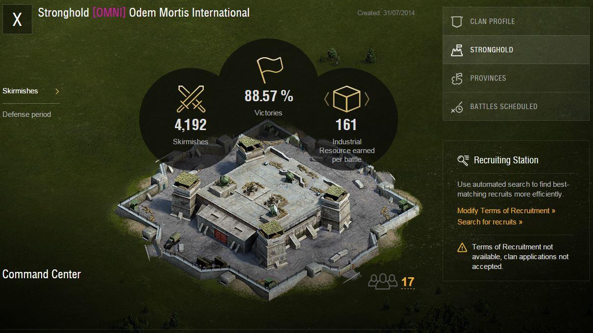 World of Tanks - Clanportal: Neue Verbesserungen