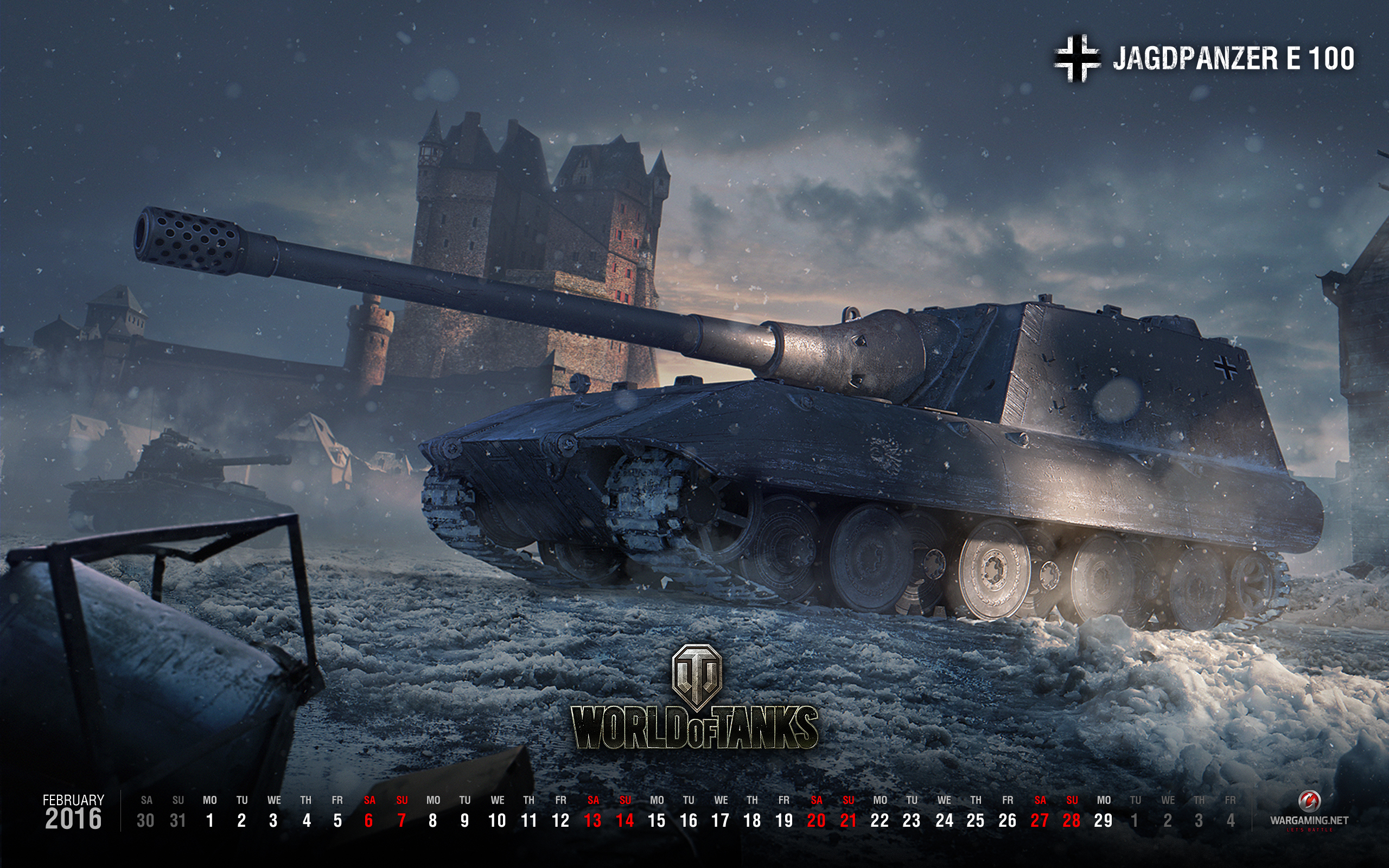 Wallpaper For February 2016 Tanks World Of Tanks Media