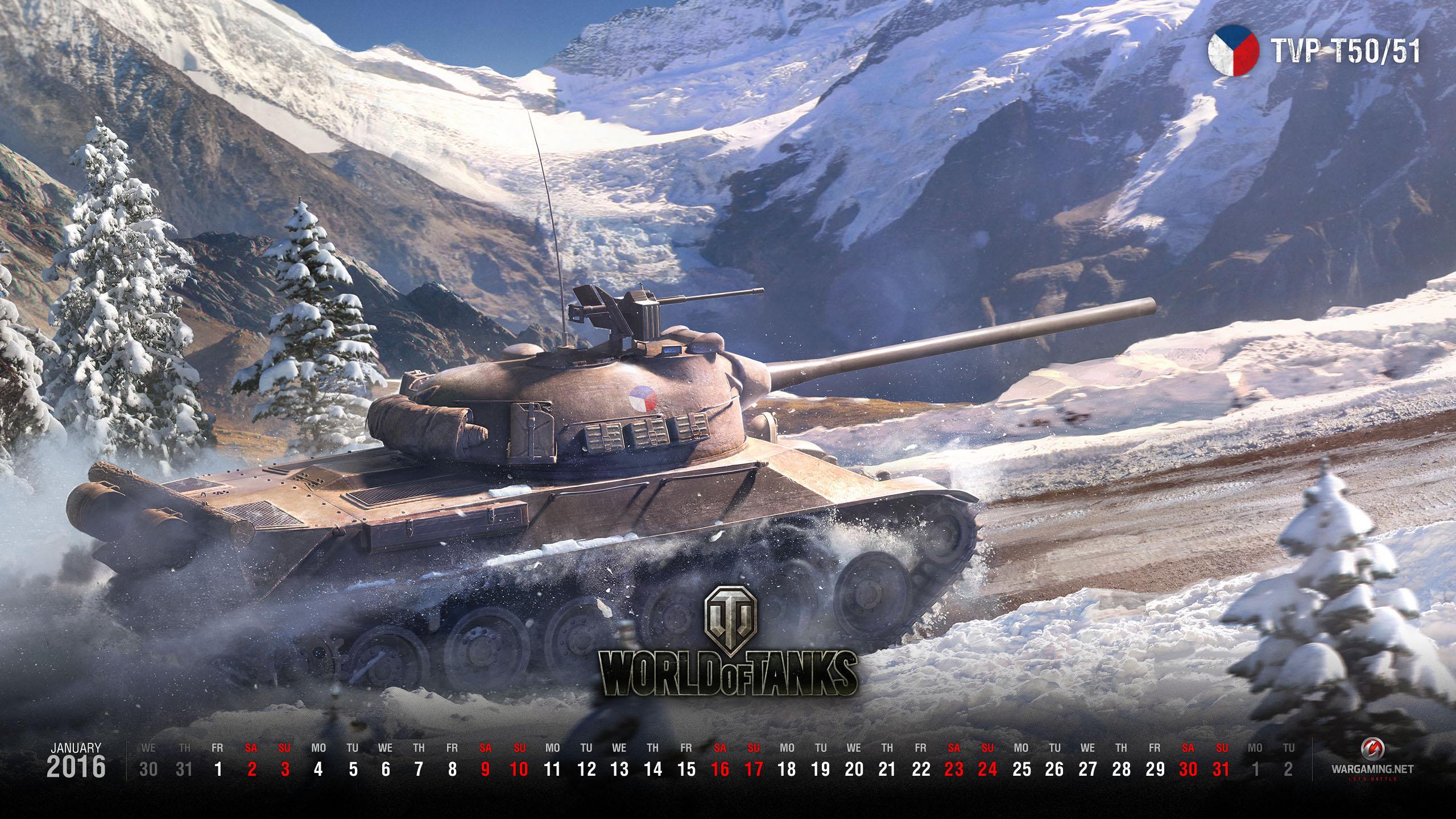 Wallpaper For January 2016 General News World Of Tanks