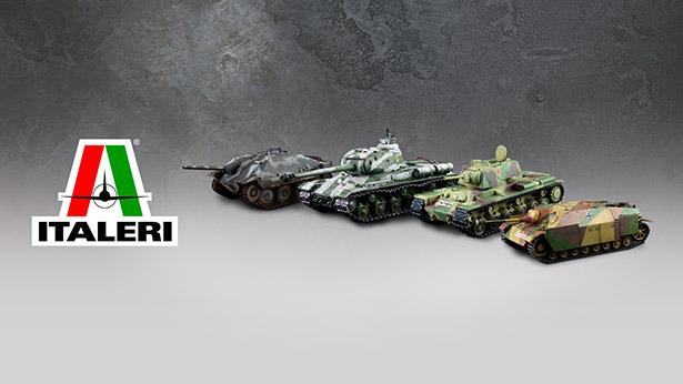 Italeri: de nouvelles produits disponibles!