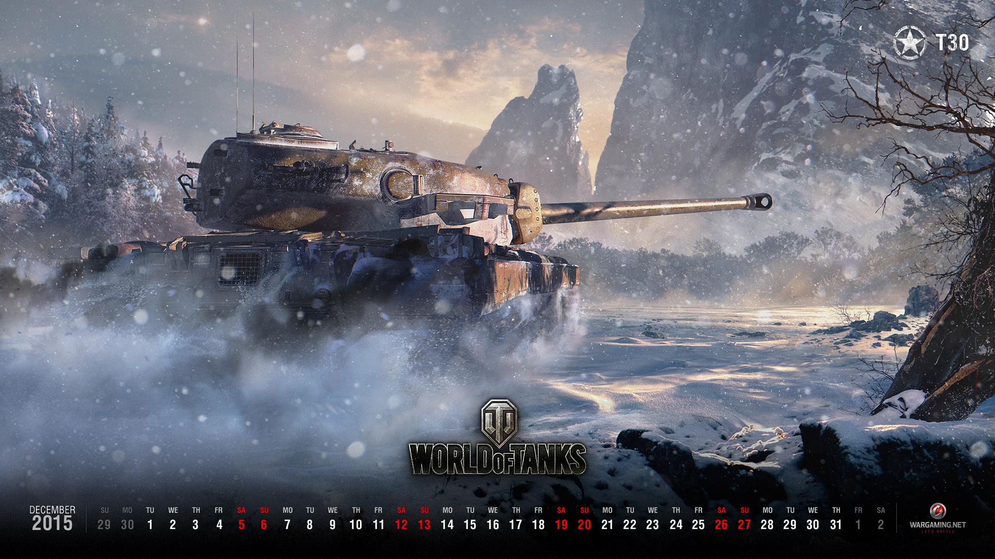 ... für den Dezember 2015   Hauptnachrichten   World of Tanks