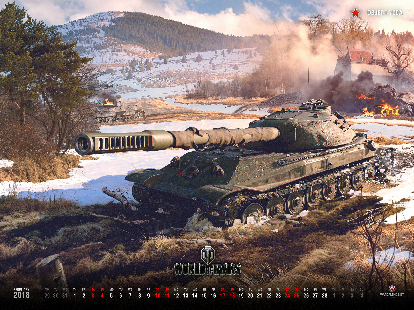 wallpaper for february 2018 | general news | world of tanks