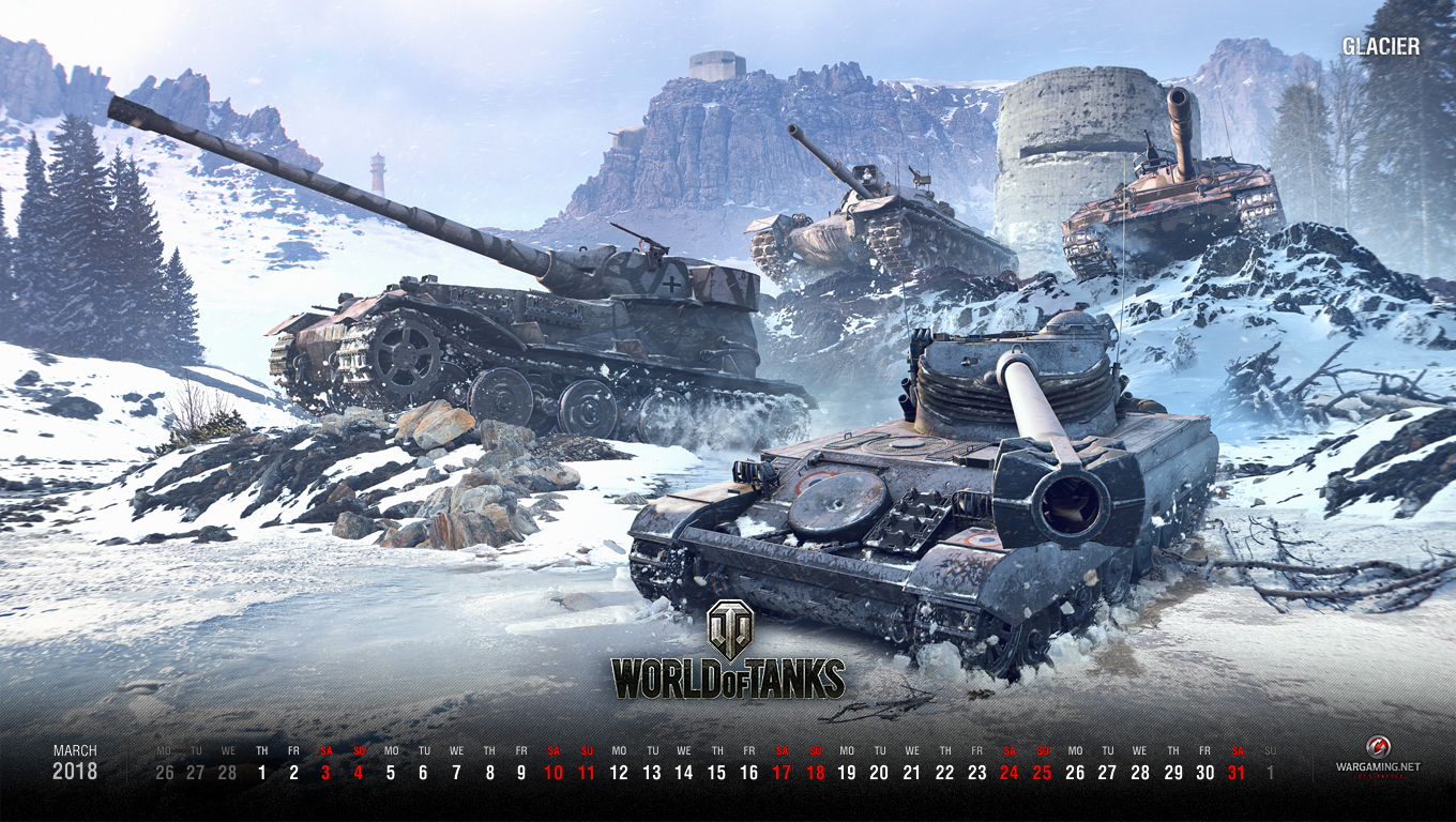 World of tanks wallpaper for march 2018 tracks up for Wallpaper home 2018