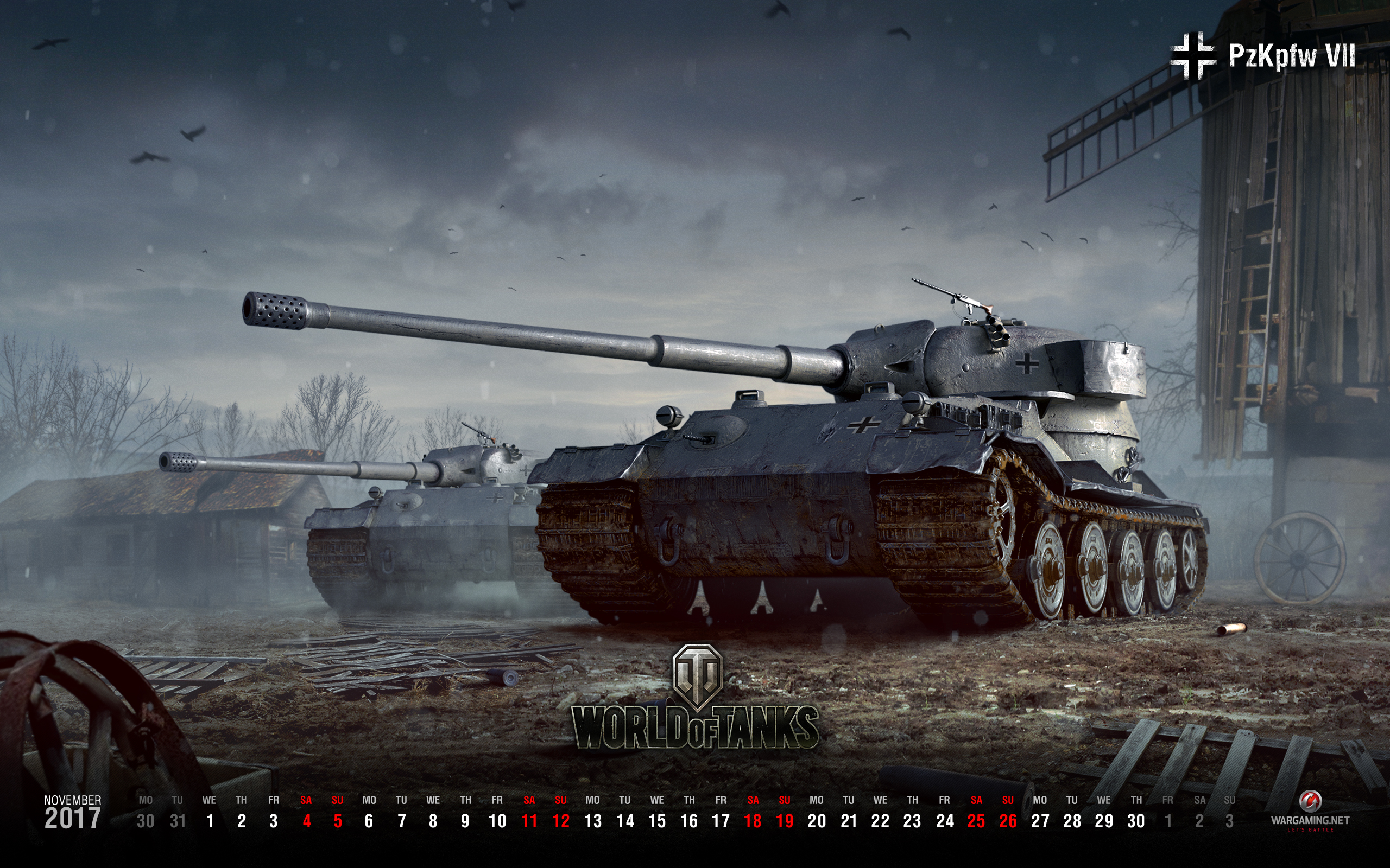 Two Wallpapers For November 2017 General News World Of Tanks