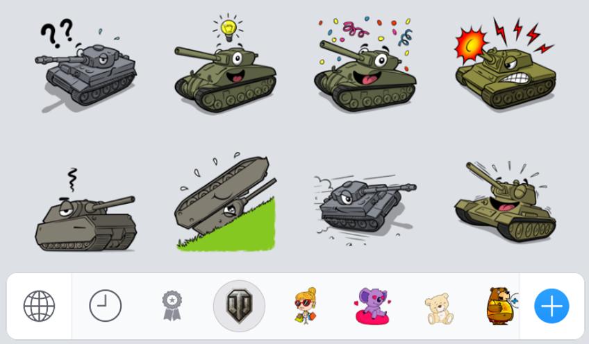 World of Tanks Sticker App! | General News | World of Tanks