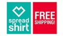 SpreadShirt and World of Tanks: week of free shipping!