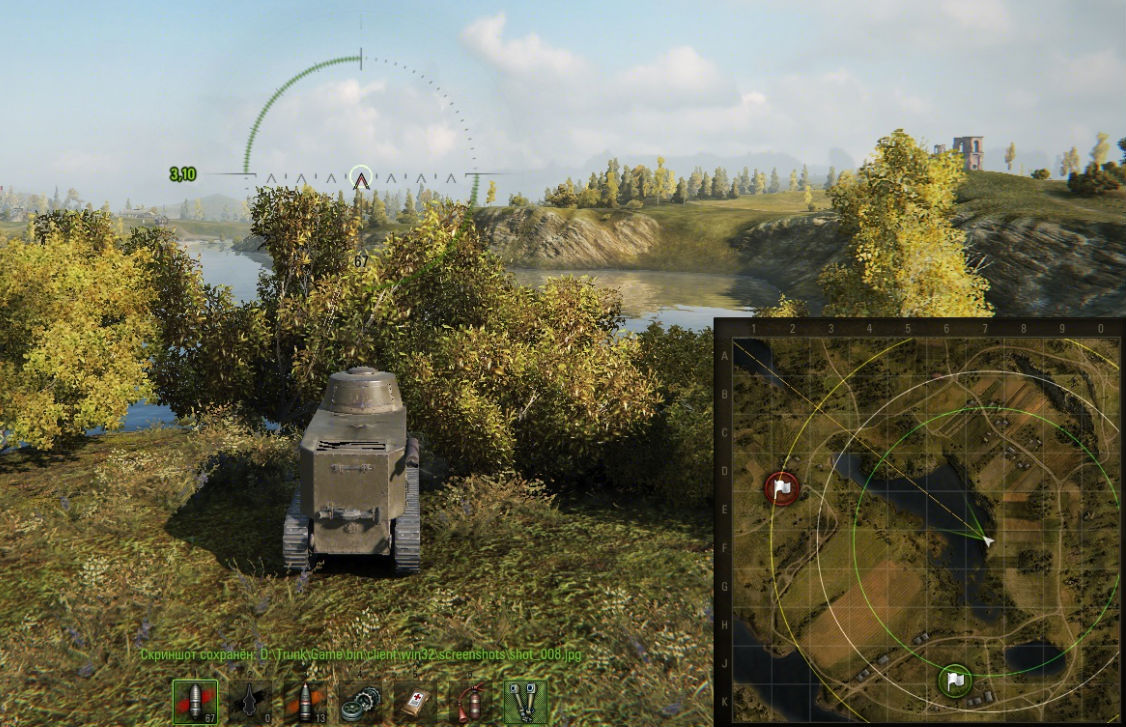 world of tanks map view range mod