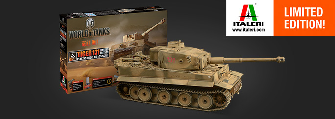 Tiger 131 Joins Italeri's World of Tanks Arsenal! | Special